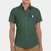 Ladies Embroidered Camp Shirt