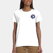 Ladies' Crew Neck IPMS Logo 100% Cotton Tee