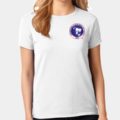 Ladies Embroidered Short Sleeve T-Shirt