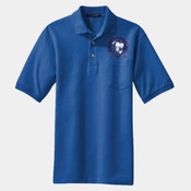 Adult Jersey Polo with Pocket